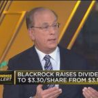 Watch BlackRock CEO Larry Fink break down the company's Q...