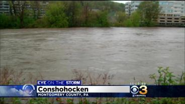 Heavy Rain Brings Flooding To Montgomery County