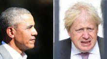 Obama: Boris Johnson's comment over race makes him 'British version of Trump'