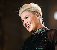 P!nk announces she's donating $1 million to coronavirus funds after testing positive