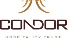 Condor Hospitality Trust Going Concern Press Release