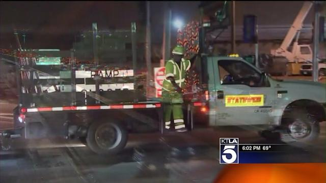 `Jamzilla` Construction Work on 405 Freeway is on Schedule