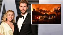 Miley Cyrus and Liam Hemsworth lose Malibu home in wildfires