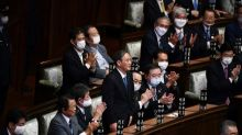 Japans Parlament wählt Yoshihide Suga zum neuen Ministerpräsidenten