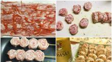 日本網民分享食譜 「烤豬肉紅姜串燒」送酒一流