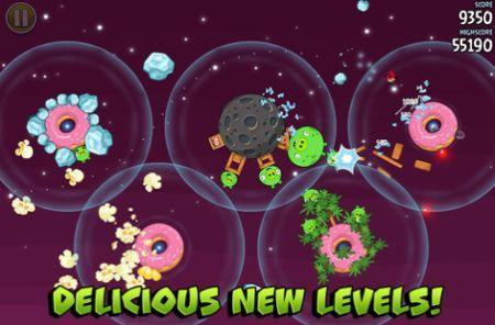 Cut The Rope, Beat The Traffic, Angry Birds Space and more updated today
