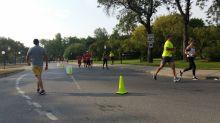 Runners push through heat, smoke in training for Queen City Marathon