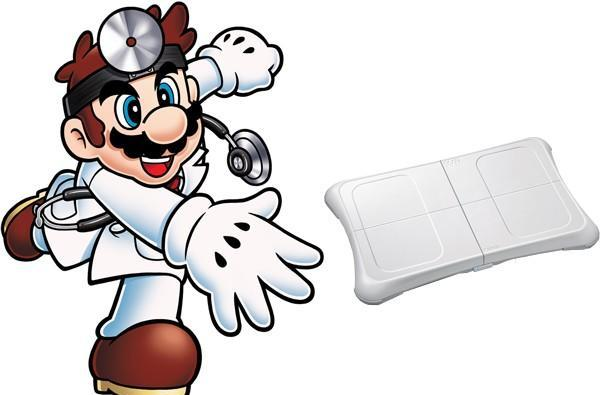 Wii Check-up Channel will link you to health professionals, Dr. Mario