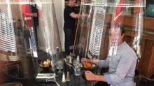 Déconfinement: des cloches en Plexiglas pour rouvrir les restaurants?