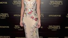 Lily James stuns in Alexander McQueen and more best dressed of the week