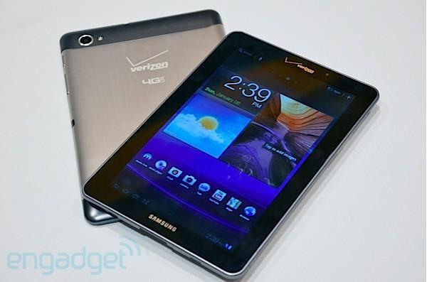 Samsung Galaxy Tab 7.7 hitting Verizon on March 1st for $500 on contract