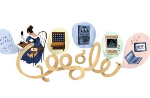 Google Doodle celebrates Ada Lovelace, the world's first computer programmer