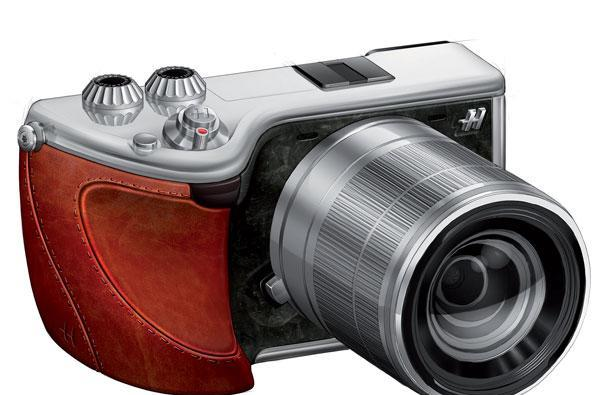 Hasselblad announces Lunar mirrorless camera, fancies up Sony's NEX-7 for 5,000 euros