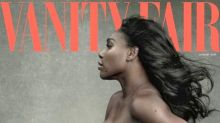 Serena Williams desnuda su embarazo en Vanity Fair