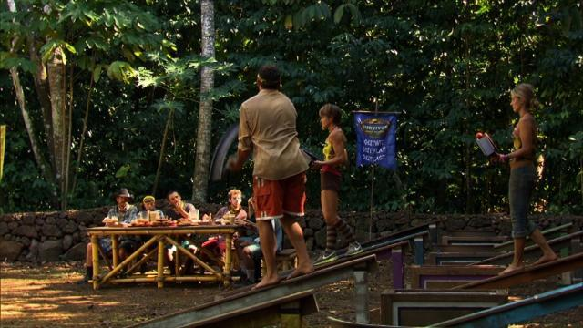 Survivor: South Pacific - Immunity Challenge: Bow Diddley