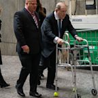 Harvey Weinstein seen without zimmer frame amid accusations of 'playing for sympathy'