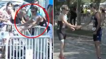 'He deserved it': Sporting world stunned by incredible finish-line act