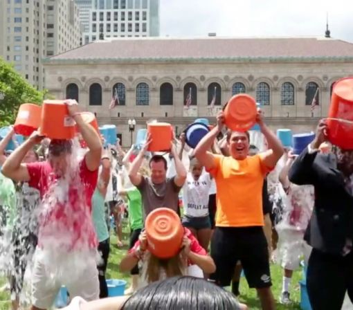 Ice Bucket Challenge Credited in Fight Against ALS