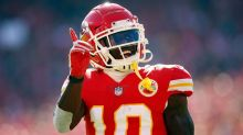 Tyreek Hill makes early exit from Chiefs practice
