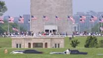 Washington Monument reopens to fanfare after 2011 quake