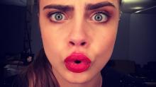 13 caras de Cara Delevingne que expresan lo que queremos decir