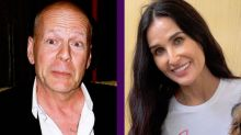 Demi Moore y Bruce Willis, el ejemplo ideal de padres divorciados, pasan la cuarentena junto a sus hijas