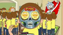 'Rick and Morty' Are 'Trapped in a Pringles Commercial' Just in Time For the Super Bowl