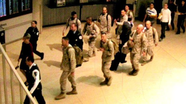 First class treatment for returning soldiers