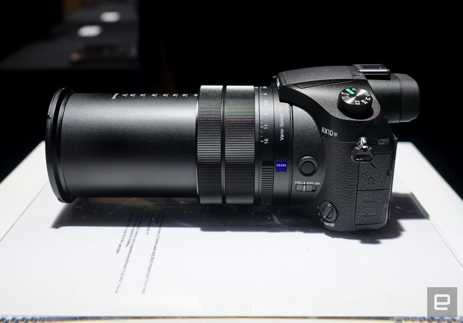 Sony RX10 Mark IV superzoom camera