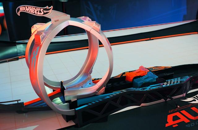 Hot Wheels' new AR track turns toy racing into a warzone