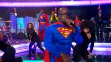 Wyclef Jean gives a special performance of 'What Happened to Love' live on 'GMA'