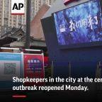 Shops open in Wuhan as virus outbreak wanes
