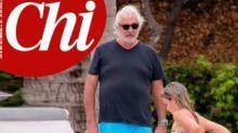 Flavio Briatore, la nuova fidanzata ha 50 anni meno di lui