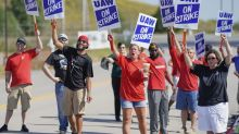 Photos: GM auto workers strike across the US