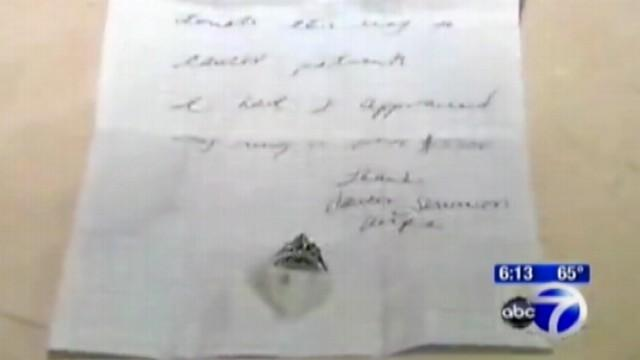 Wedding Rings Left to Help Cancer Patients