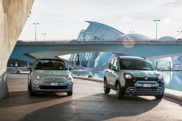 FCA小車輕油電先行者!Fiat 500 / Panda Hybrid連袂登場