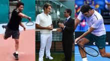 Any Tips for My Forehand? Sachin Tendulkar asks Roger Federer | Watch