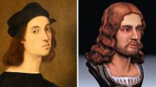 3D reconstruction of Raphael's face proves he was buried at the Pantheon
