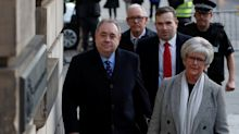 Alex Salmond 'lay on top of woman and tried to rape her'