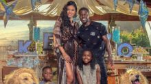 Kevin Hart and wife throw lion-themed baby shower, announce baby boy's name