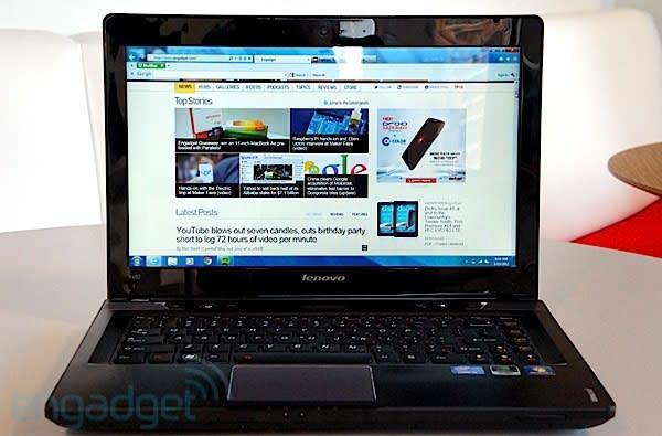 Lenovo IdeaPad Y480 review