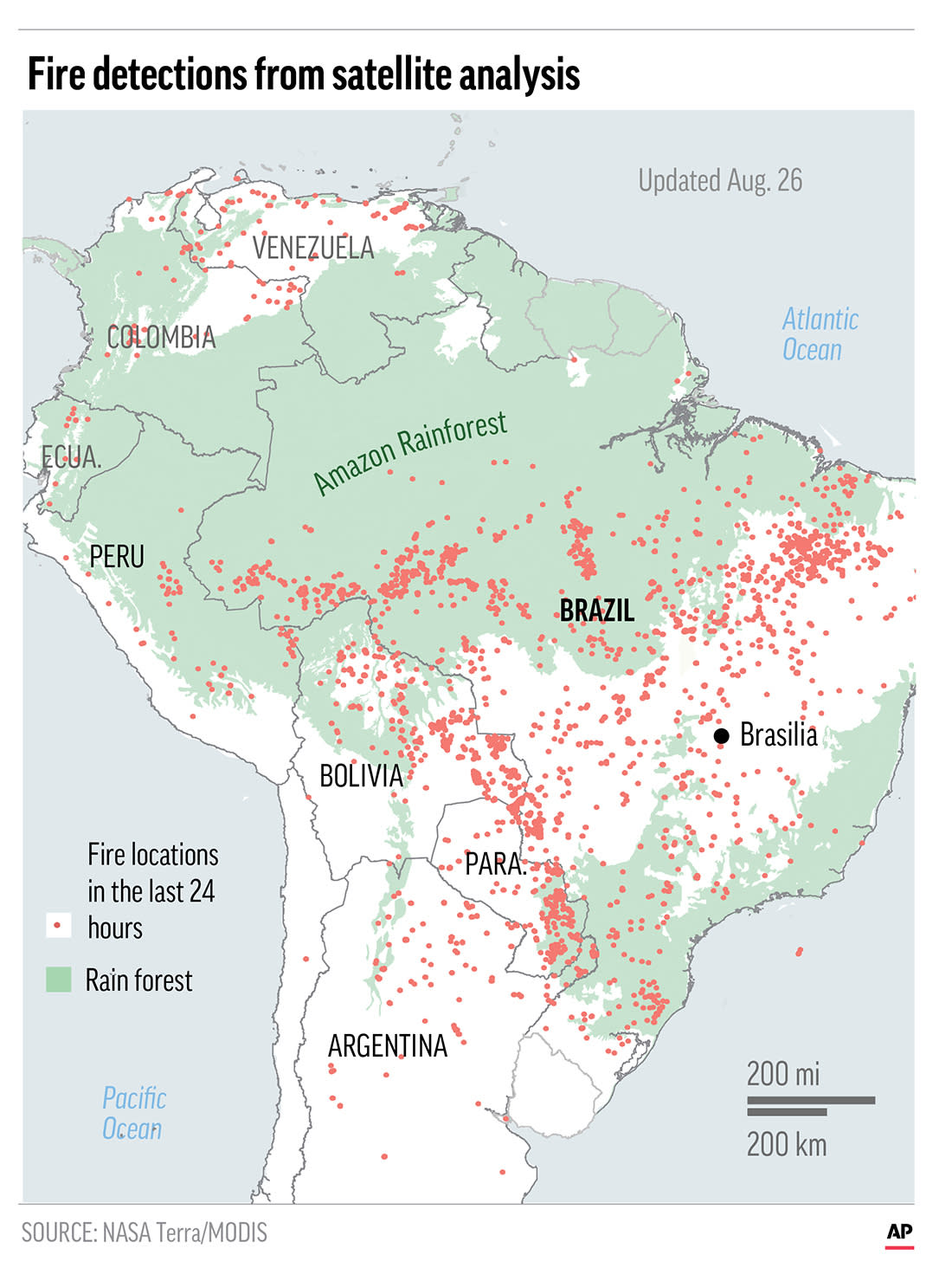 Leaders of the Group of Seven nations say they're preparing to help Brazil fight the fires burning across the Amazon rainforest and repair the damage.;