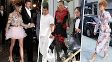 The Outfits 31 Celebrities Wore to Other People's Weddings