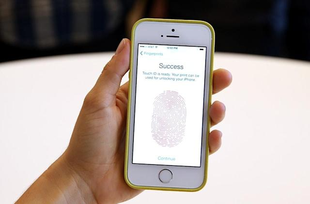 Your next phone could have a fingerprint reader on its screen