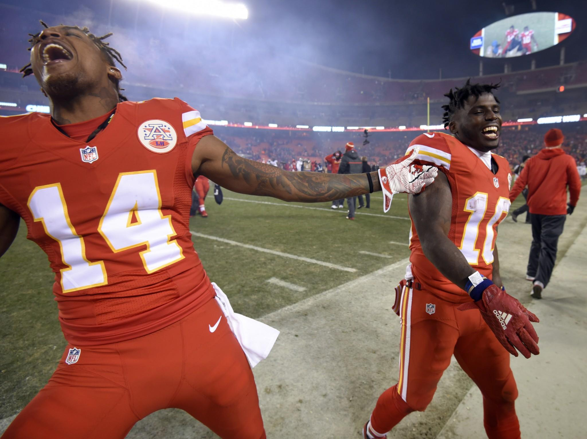Troubled Tyreek Hill helping add Super Bowl dimension to emerging