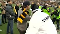VIDEO: Channing Tatum Leading Terrible Towel Whirl