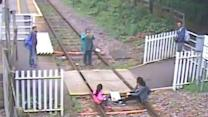 Warning As Rural Train Station Sees Eight Incidents In One Day (No Sound)