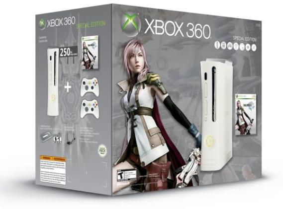 Xbox 360 retailing in a Final Fantasy XIII bundle for the rest of us