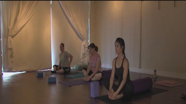 Fertility yoga classes designed for women who want to conceive