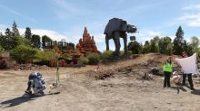 Disney Parks Break Ground on'Star Wars' Land